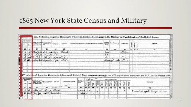 State Census Treasures