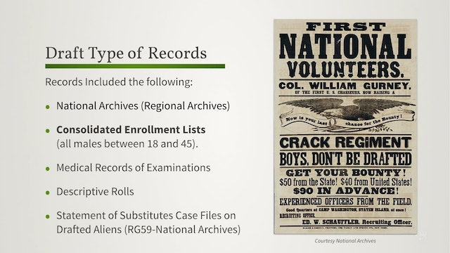Union Draft Records: An Overview