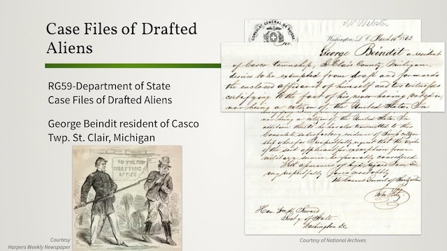 Examples of Union Draft Records