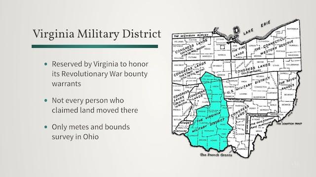 Ohio's Land Surveys: Lands Claimed by...