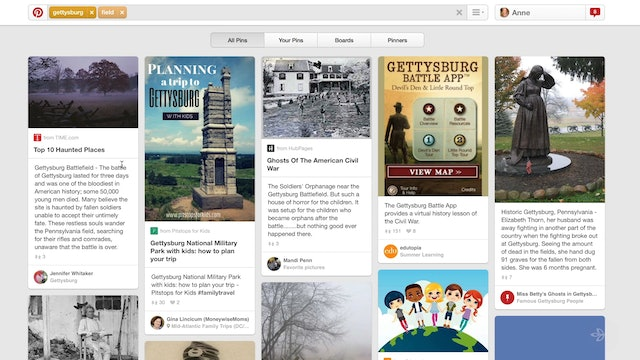 Pinterest -- Visualizing Genealogy