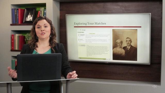 AncestryDNA Matching