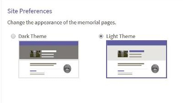 Site Preferences: Adjusting the Header Color