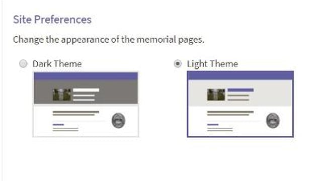 Site Preferences: Adjusting the Heade...