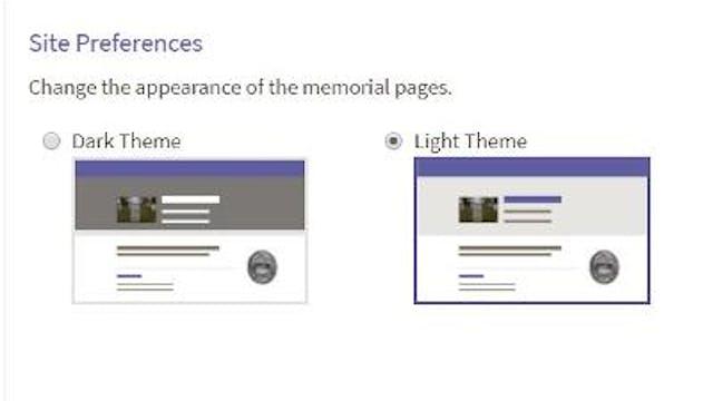 Site Preferences: Adjusting the Heade...