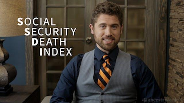 Social Security Death Index (SSDI)