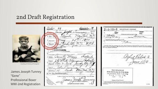 World War I Draft Registrations