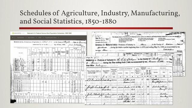 Federal Census Treasures
