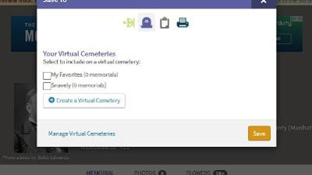 How To Start A Virtual Cemetery