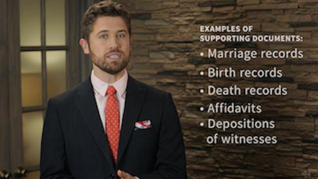 Civil War Widows' Pension Application...