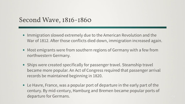 German Migration to the United States