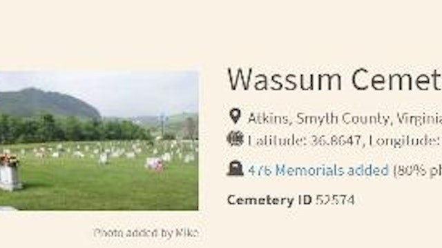 What Is On The Cemetery Page?