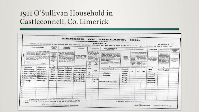 Irish Census Records: Clues in the 19...