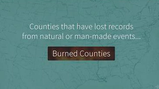Myth: Burned Counties