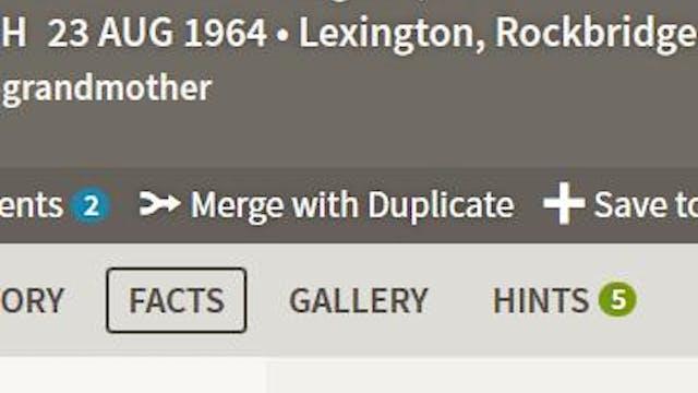 How Do I Merge Duplicate People?