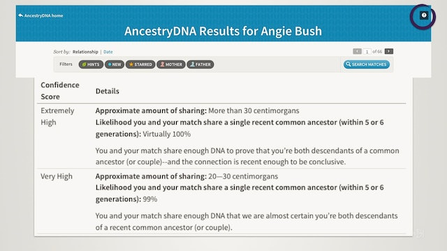 Resolving Problems Identifying the Common Ancestor