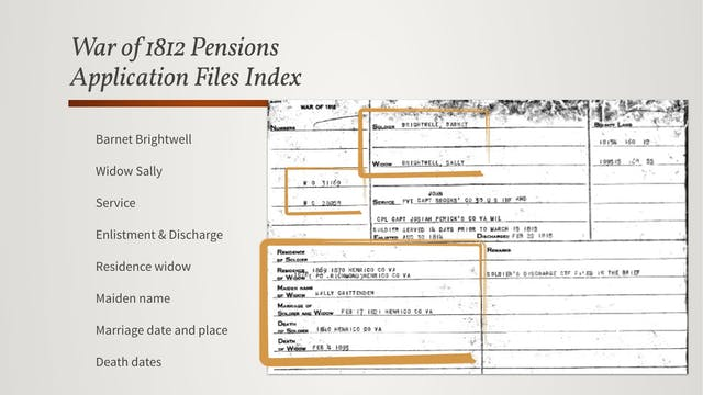 Identifying Pensioners: Pension Rolls...