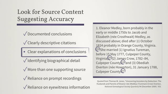 Accuracy and Error in Records, Narrat...