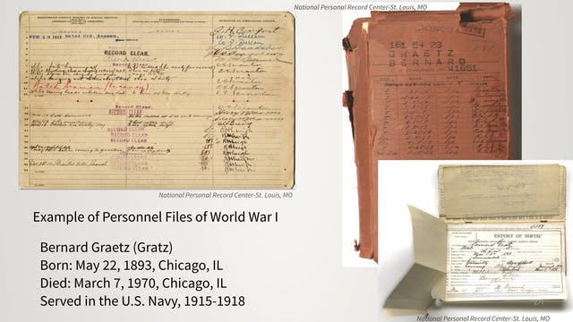 Official Military Personnel Files - P...