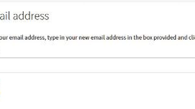 How To Update Your Email Address