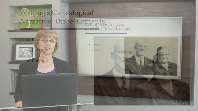Preserve Your Research in Writing: Genealogical Narrative