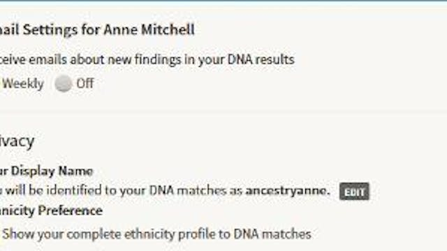 Receiving Email About Your DNA Matches