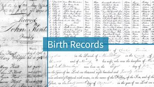 Vital Records - Births