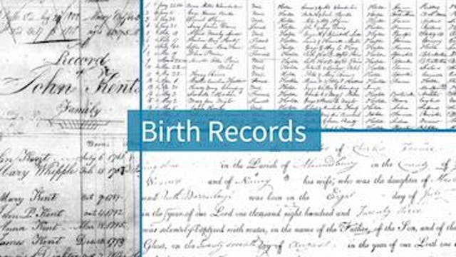 Vital Records - Births