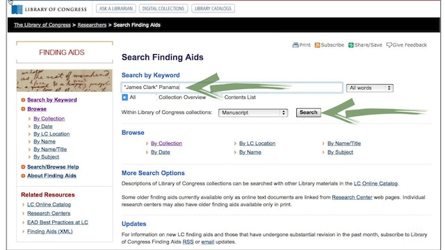 Using Finding Aids