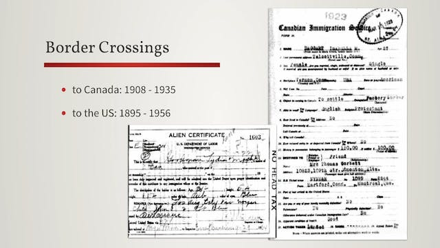 Collection Category - Immigration & T...