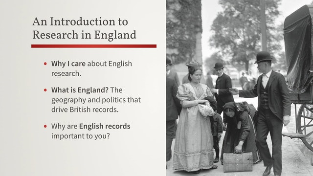 An Introduction to Research in England