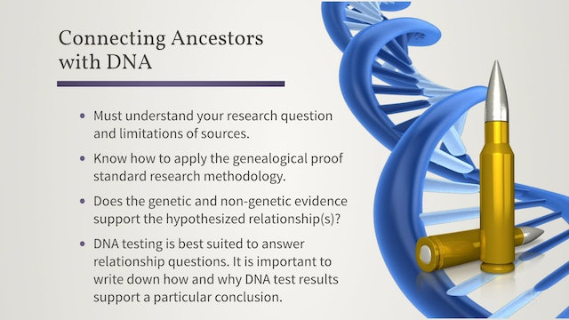 How to Write a Proof Statement Involving DNA