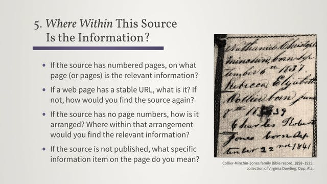Understand Your Sources by Answering ...