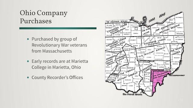 Ohio's Land Surveys: Ohio Company and...