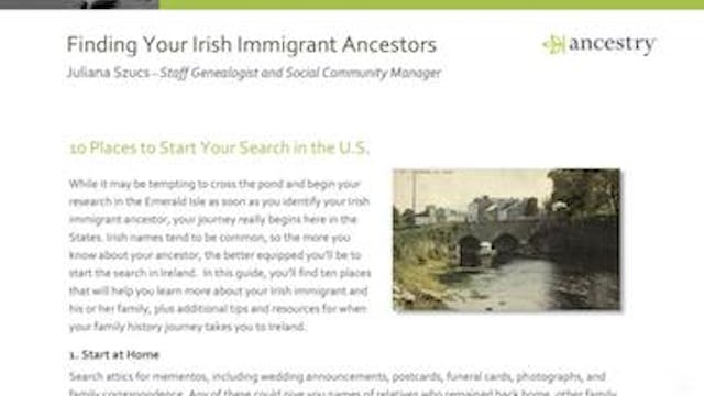 Do You Have Irish Ancestry?