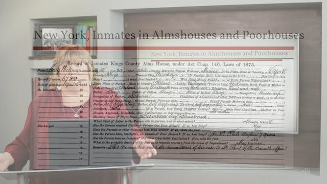 New York, Inmates in Almshouses & Poo...