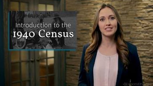 Introduction to the 1940 Census