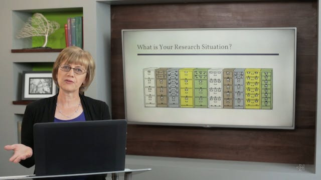 Assess Your Research Situation