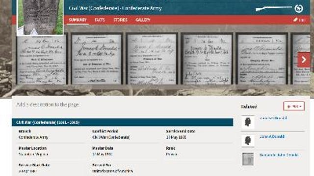 Which Wars Did Your Ancestor Serve In?
