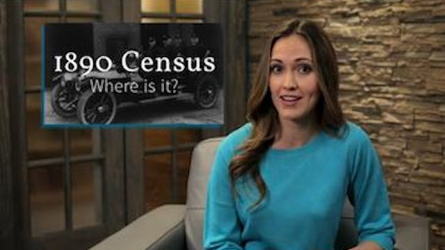 1890 Census Where is it?