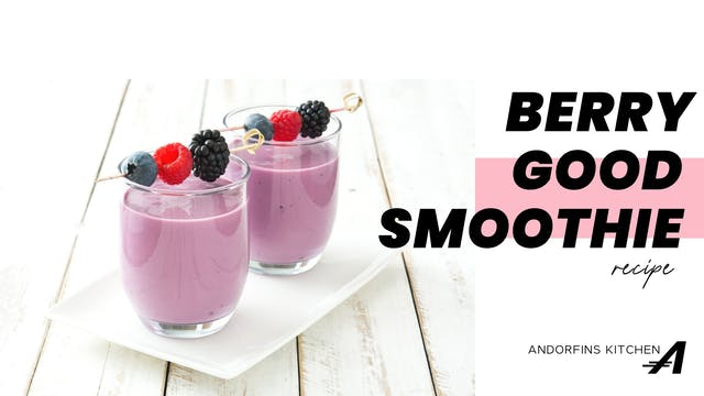 Berry Good Smoothie Recipe