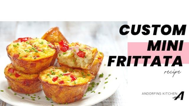 Custom Mini Frittata Recipe