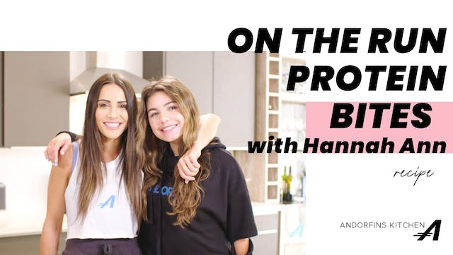 On The Run Protein Bars with Hannah A...