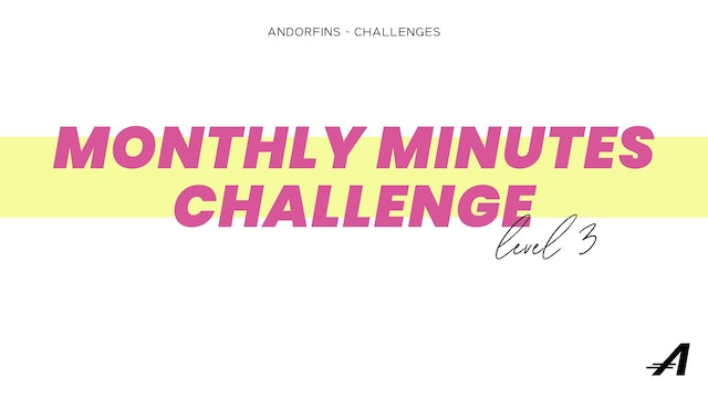 MONTHLY MINUTES CHALLENGE LEVEL 3