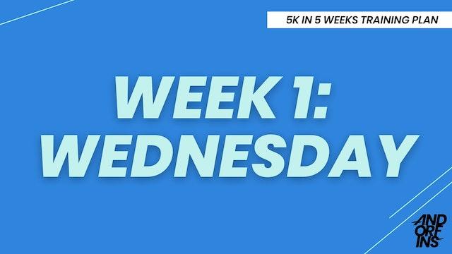 WEEK 1: WEDNESDAY