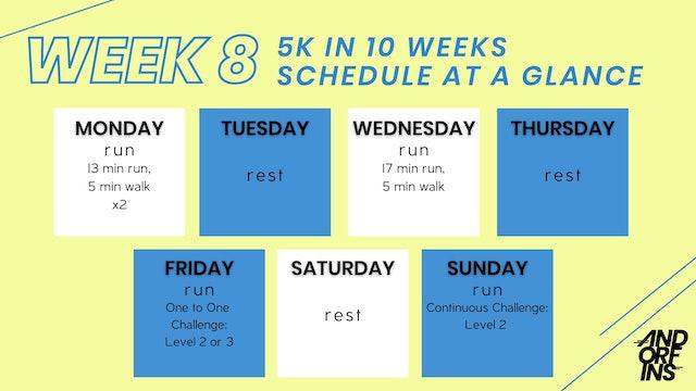5k in 10 Weeks: WEEK 8