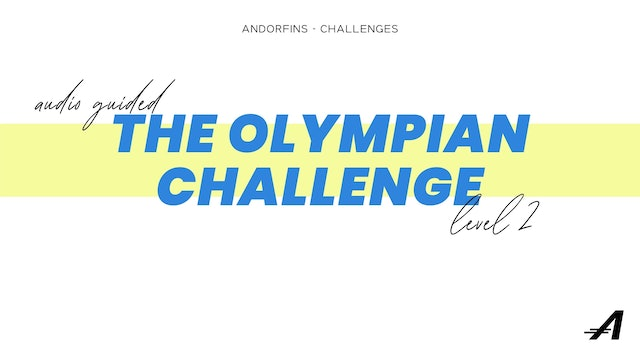 THE OLYMPIAN LEVEL 2 (Audio Guided Version)