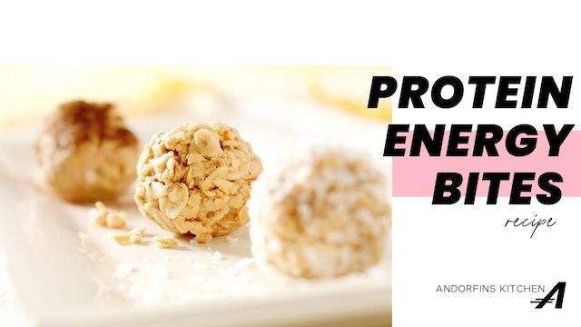 Protein Energy Bites Recipe