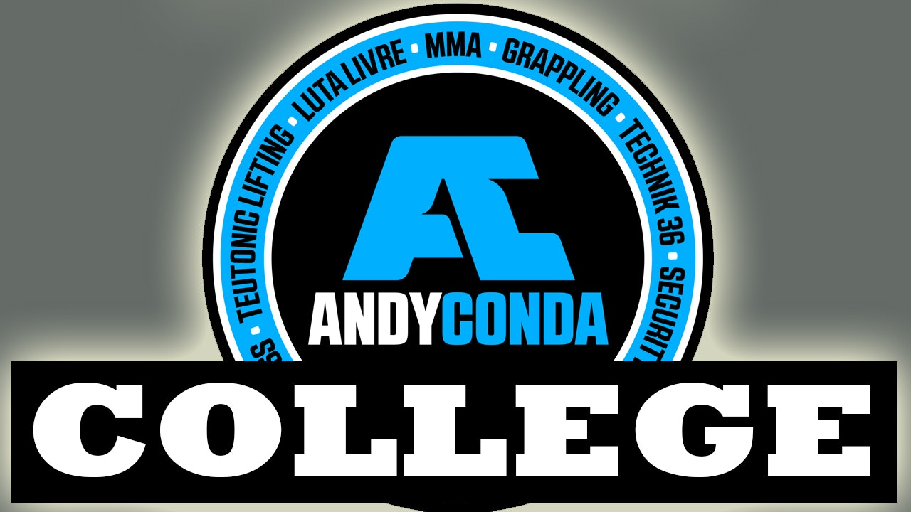 Test for the Andy Conda College Camp DVD