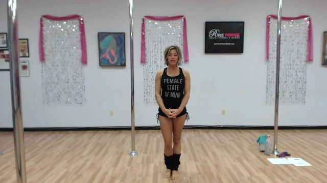 Beginner Pole Series Climb & Pose Seq...